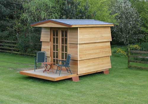 Beehive camping hut